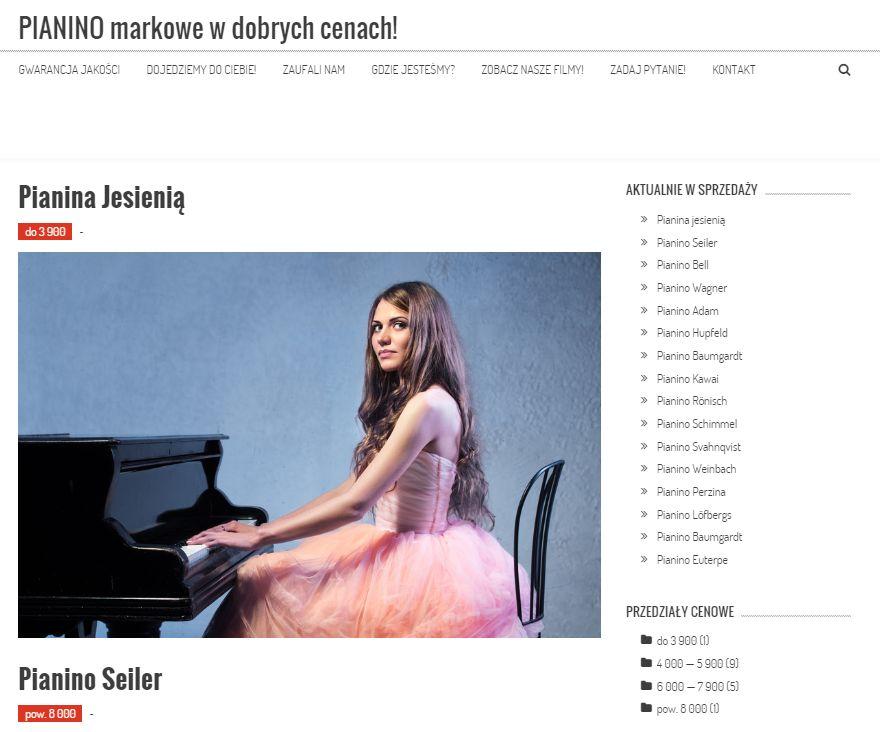 pianino markowe